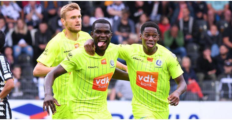 Nieuwkomer Ngadeu scoorde meteen bij Gent: Het lukte beter en beter