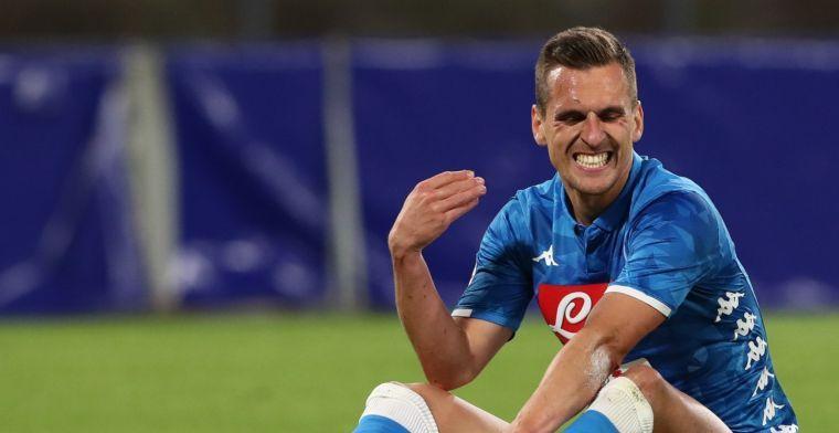 Napoli biedt geld én Milik om Tottenham Hotspur af te troeven