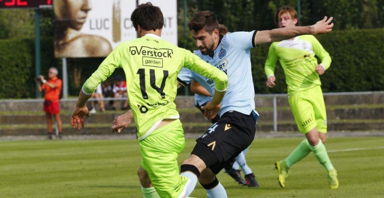 'Speler Club Brugge is de bank beu en aast op een vertrek bij Blauw-Zwart'