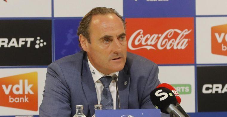 """Vanderhaeghe na het gelijkspel tegen Charleroi: """"Het contrast was zo groot"""""""