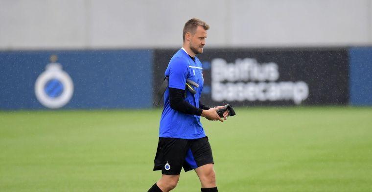 Club Brugge maakt selectie voor Dynamo Kiev bekend: Mignolet direct inzetbaar