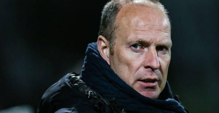 Weggestuurde Molenaar gniffelt om malaise bij Roda JC: Het steunt me