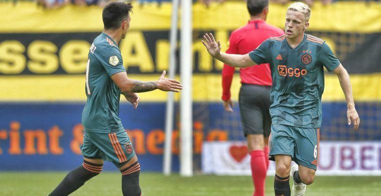 Van de Beek op weg naar Real Madrid: 'De vraag is of hij het daar redt'