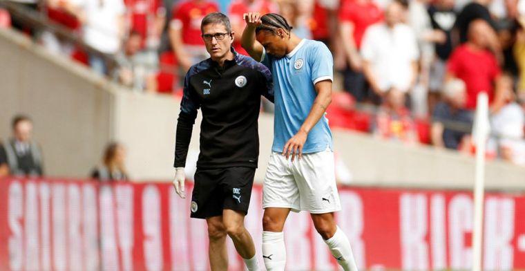 Update: Manchester City bevestigt: Sané onder het mes door kruisbandblessure