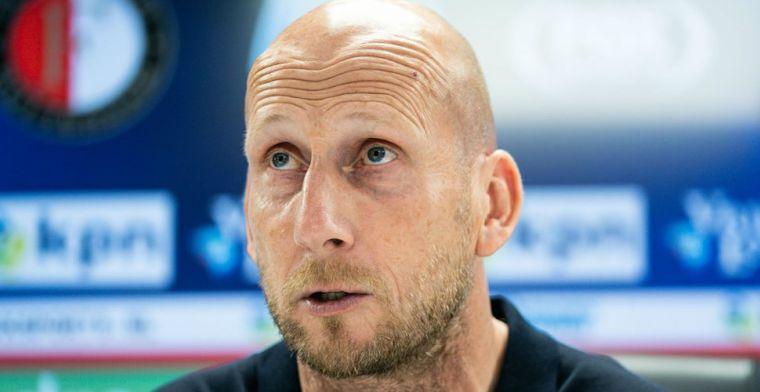Feyenoord-transfer 'verre van ideaal' voor Stam: 'Doen we niet lichtzinnig over'