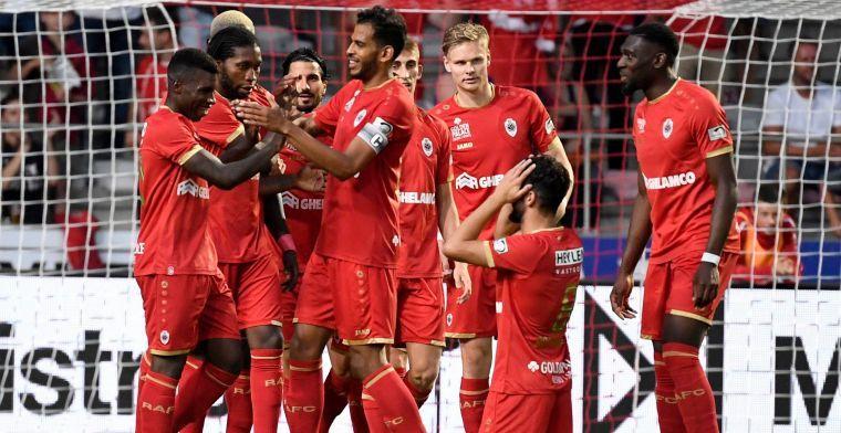 OPSTELLING: Royal Antwerp FC met één wijziging bij Europese rentree