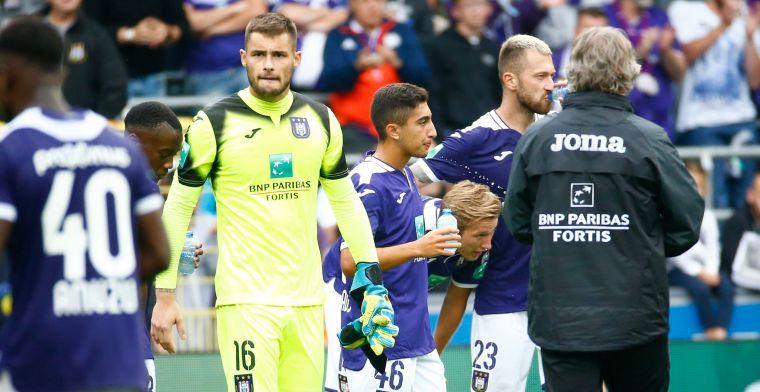 Problemen voor Kompany: 'Didillon weigert op de bank te zitten bij Anderlecht'