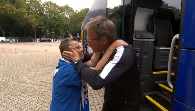 Feel good: Henk de Jong met open armen ontvangen bij De Graafschap