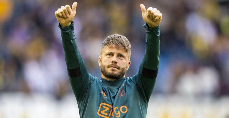 Ajax maakt vertrek Schöne officieel: 'Geen vaarwel, maar tot ziens'