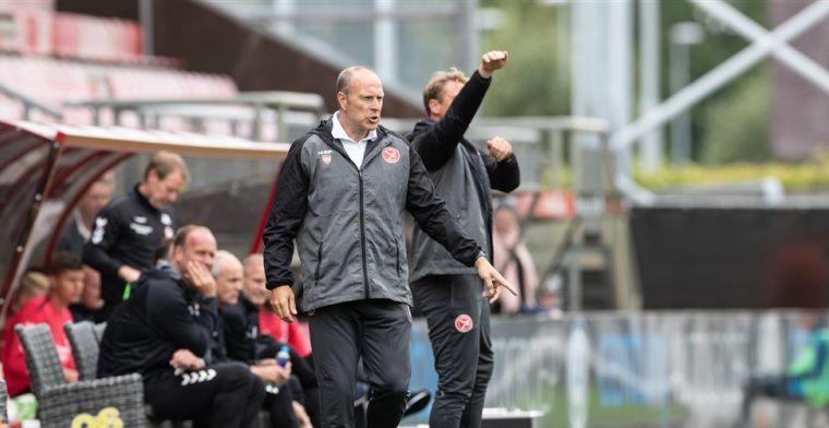 'Wij willen uiteindelijk binnen nu en twee jaar promoveren naar de Eredivisie'