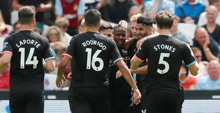 VAR en Sterling eisen hoofdrol op bij ruime zege van Manchester City op West Ham