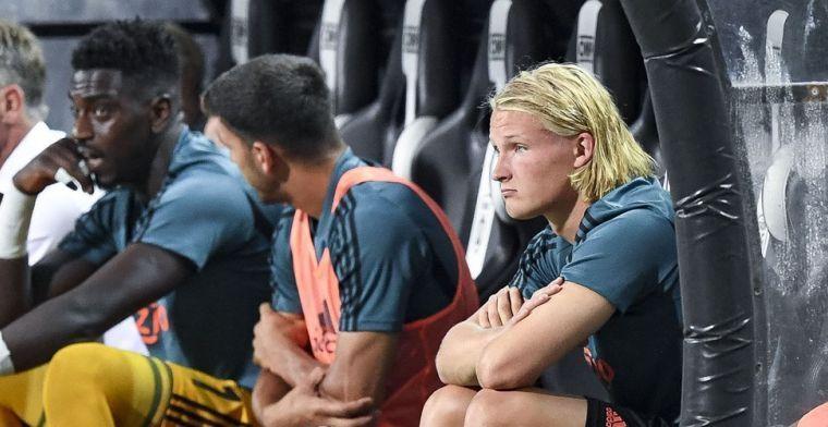 'Bosz wilde Dolberg naar Leverkusen halen: Ten Hag ziet potentie en ligt dwars'