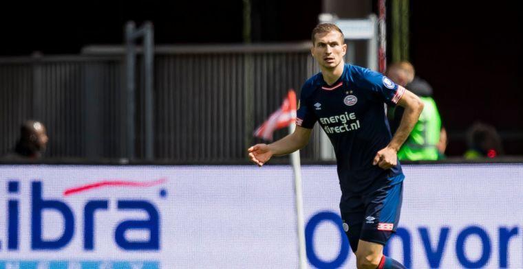 Bevestiging van PSV: Schwaab keert na anderhalve maand alweer terug in Eindhoven