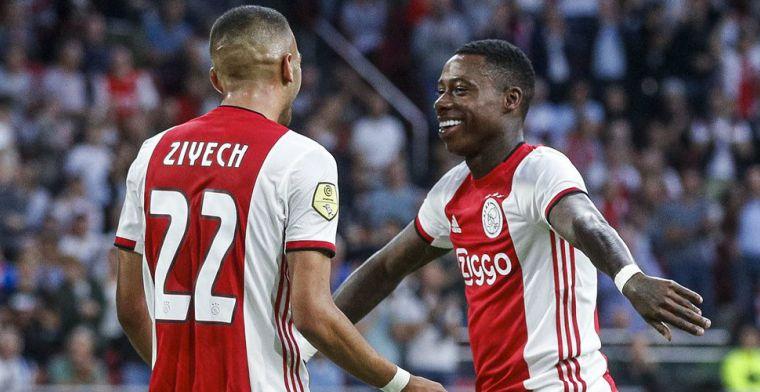 'Promes is er doodziek van dat Ziyech en Neres hebben verlengd bij Ajax'