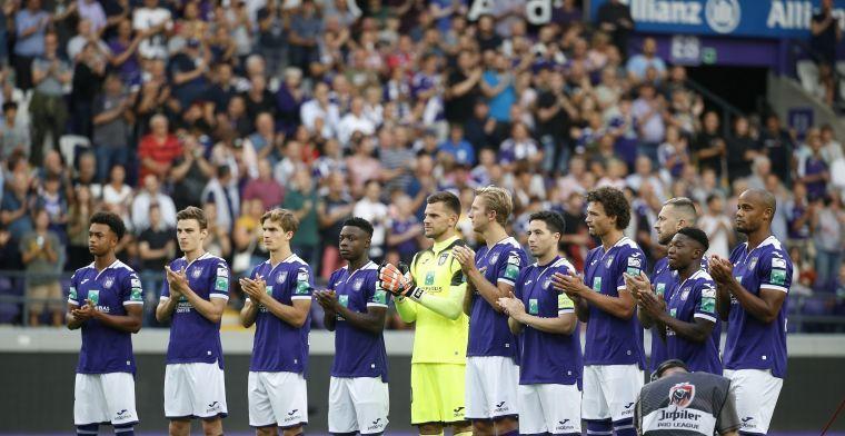 Kompany gebruikte al 22 spelers bij Anderlecht, twee clubs sluiten met 16 de rij