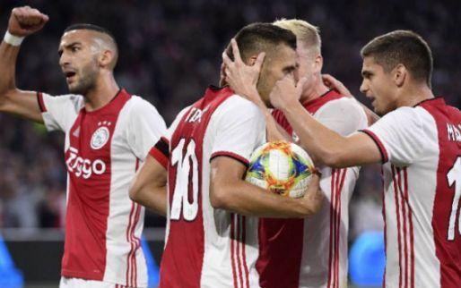Afbeelding: Ajax schakelt PAOK uit en gaat naar Play-Offs na thriller in Amsterdam