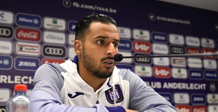 Chadli spreekt over zijn positie bij Anderlecht: Rechtsback? Dat kan
