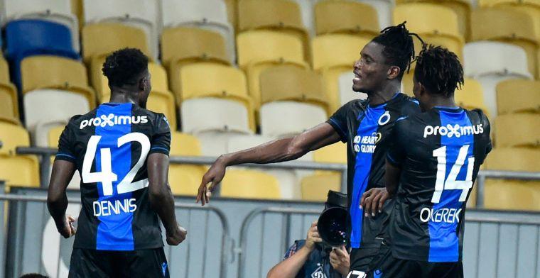 Club Brugge sleept zich naar de Play-Offs van de Champions League