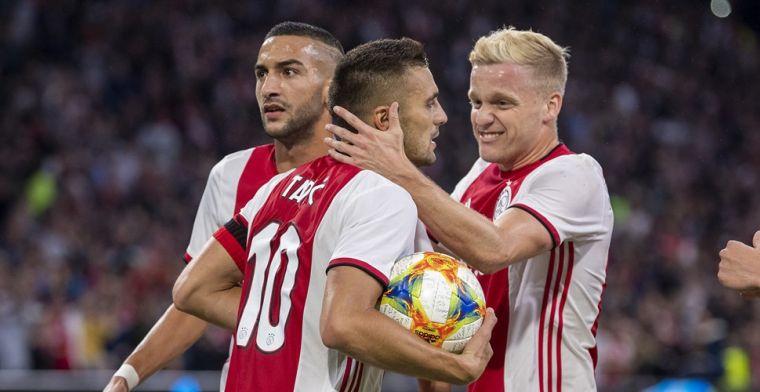 'Ook uit Madrid positieve signalen voor Ajax: Zidane bedankt voor Van de Beek'