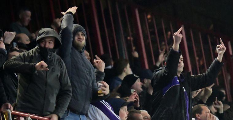 Anderlecht verschijnt alsnog voor het BAS door spreekkoren tegen Club Brugge