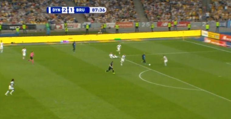 GOAL: Vormer schiet Club Brugge naar de volgende ronde van de Champions League