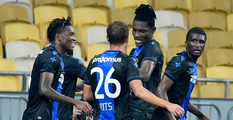 LIVE: Club Brugge staat op twintig minuten van de volgende ronde