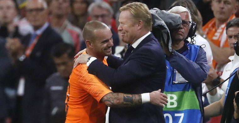 Koeman zet deur open: Altijd welkom bij het Nederlands elftal, dat weet hij