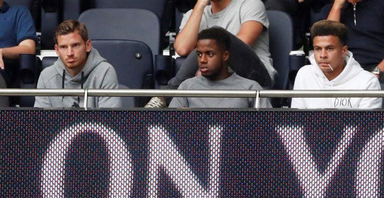 'Vertonghen komt niet in 'top shape' terug van vakantie en valt buiten Spurs-boot'