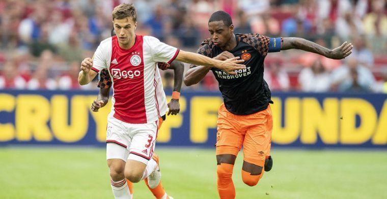 'Ajax wees riant bod uit Engeland af': 'Trainer vindt me te belangrijke schakel'