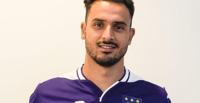 """Chadli legt keuze voor Anderlecht en Kompany uit: """"Daarom ben ik hier"""""""