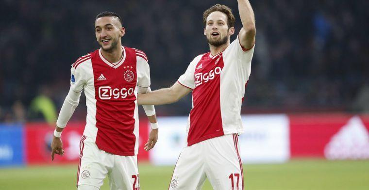 'Ajax nu zoveel sterker dan de rest dat de titel een zekerheid is van 75 procent'