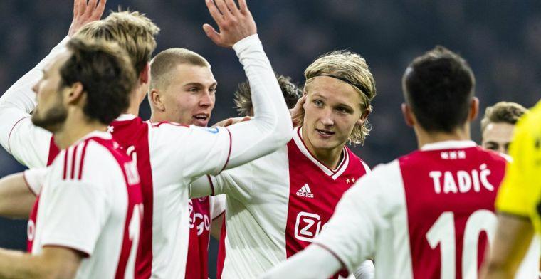 'Franse transfer lonkt voor Dolberg: Ajax-spits geldt als belangrijkste kandidaat'