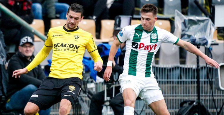 Huurdeal FC Groningen met NEC: 'We zien het nog in hem zitten'