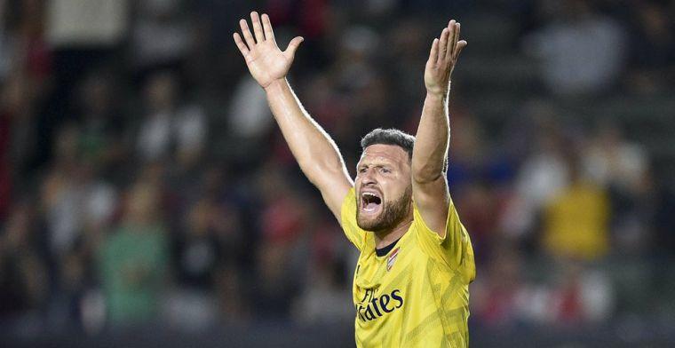 Arsenal wil nog vier spelers lozen voor eind van de maand