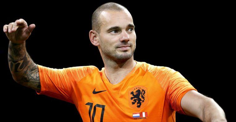 Genee wil Sneijder binnenhalen: Kunnen wij hem een beetje bij de hand nemen