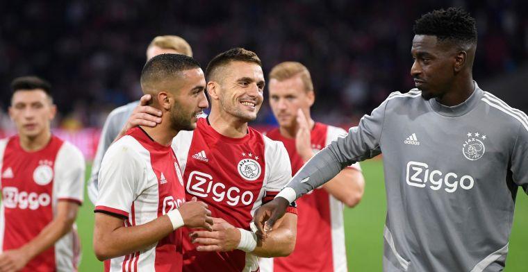 Opluchting bij 'onmachtig, ploeterend' Ajax: 'De wanorde was af en toe stuitend'
