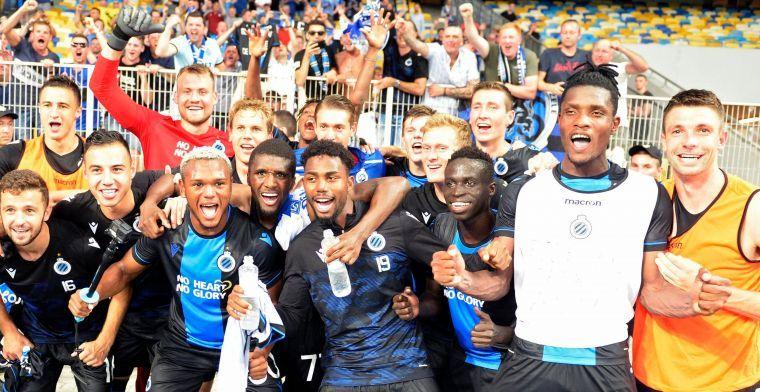 Club Brugge likt wonden na Kiev, Deli verlaat Oekraïne met ingepakte enkel