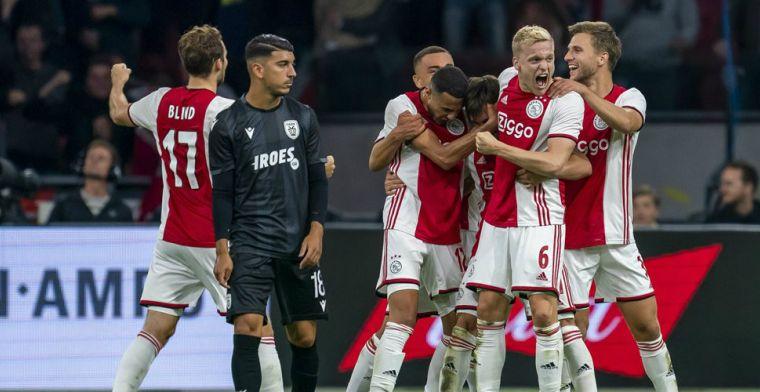 Griekse pers razend door 'vreselijke' arbiter bij Ajax-PAOK: 'Totaal de weg kwijt'