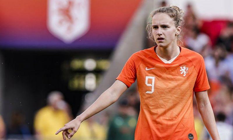 Afbeelding: Domper voor Miedema: Oranje-aanvalster valt net buiten podium voor beste speelster