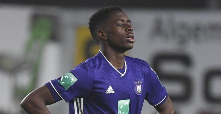 'Kompany neemt risico bij Anderlecht en legt alle hoop op Sambi-Lokonga'