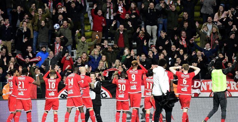 UPDATE: 'Miyoshi woont alvast Antwerp - STVV bij'