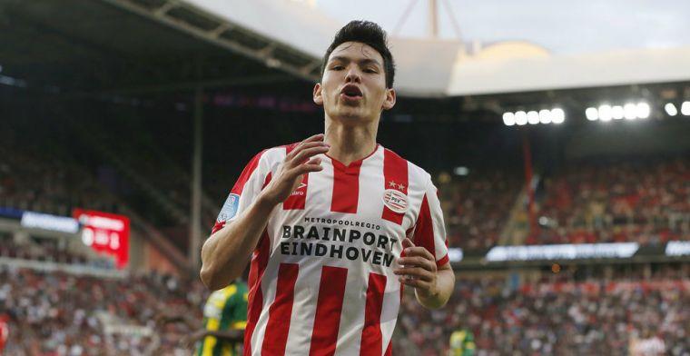 'Recordtransfer PSV rond: Lozano tekent definitief voor vijf seizoenen bij Napoli'