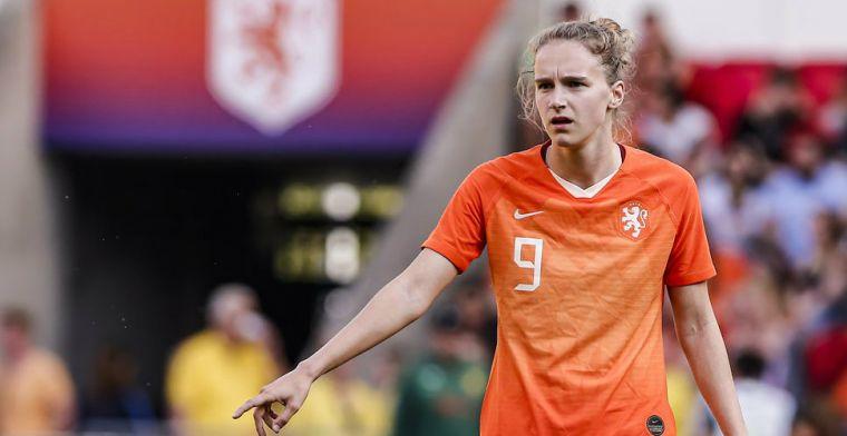 Domper voor Miedema: Oranje-aanvalster valt net buiten podium voor beste speelster