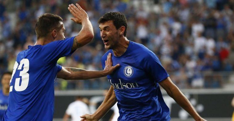 'KAA Gent ziet interesse in spits toenemen: Lazio en Galatasaray kloppen aan'