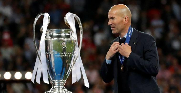 """Zidane draait zijn kar: """"Zoals de kaarten nu liggen, reken ik op Bale bij Real"""