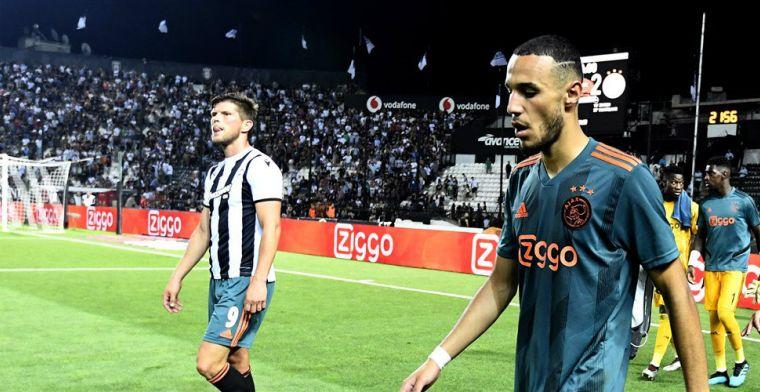 Twee vraagtekens bij Ajax: 'Bij hem zit een probleempje, heeft last van zijn knie'