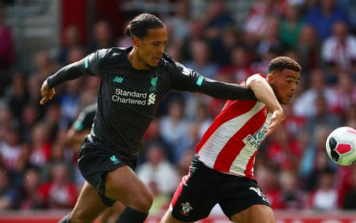 Afbeelding: Liverpool ontsnapt bij Southampton na blunder van Adrián in slotfase