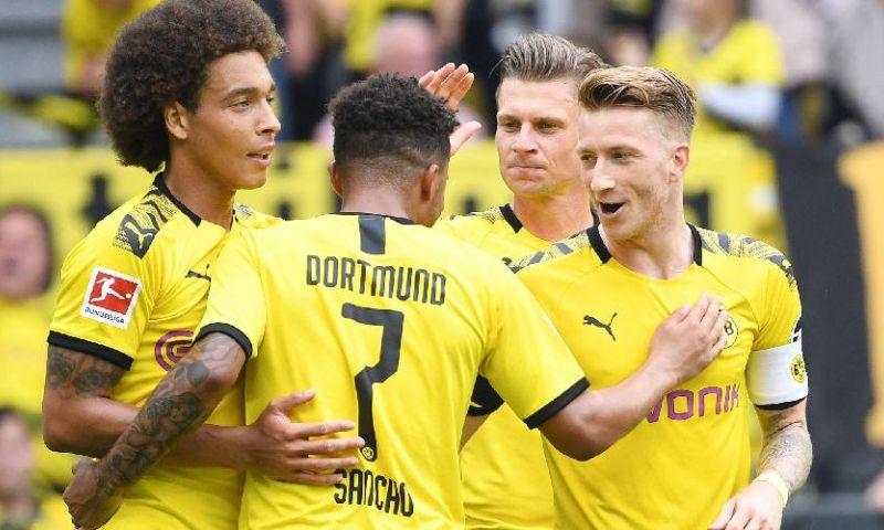 Afbeelding: Heerlijke start voor Dortmund, Bosz en Weghorst; kater voor andere Nederlanders
