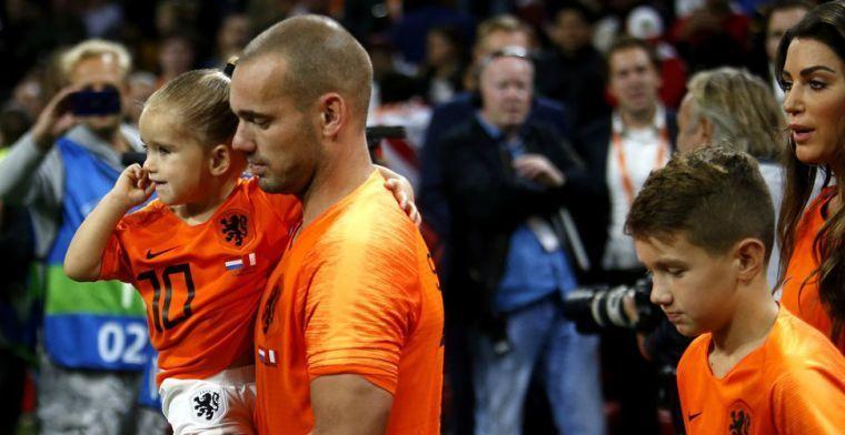 Sneijder (35) maakt toekomstplannen bekend: 'Ben overal geliefd geweest'