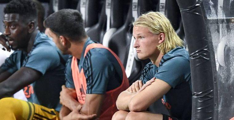 'Dolberg op weg naar Ajax-uitgang: onderhandelingen gaan 'de goede kant op''